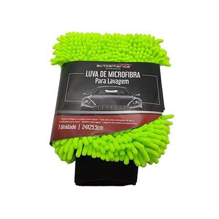 Luva de Microfibra Para Lavagem Autoamerica