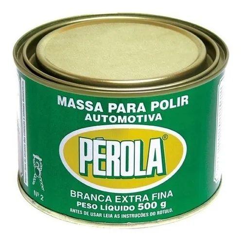 Massa para Polir 500g Pérola