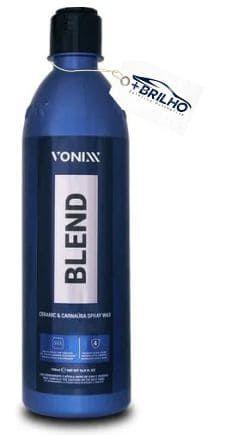 Blend Cera Carnaúba Silica Spray Wax 473ml Vonixx