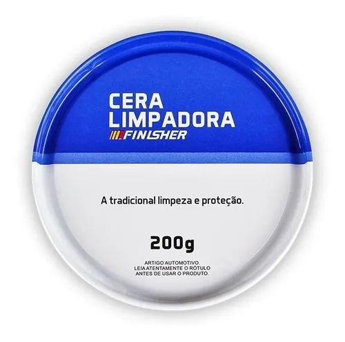Cera Limpadora 200gr Finisher