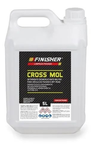 Cross Mol Detergente Dedincrustante Neutro 5L Finisher