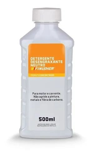 Detergente Desengraxante Neutro 500ml Finisher