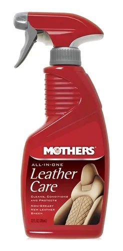Limpa e Hidrata couro Leather care all in one 355ml Mothers