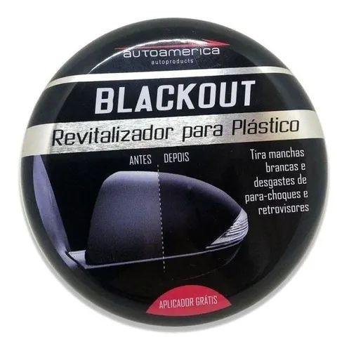 Revitalizador de Plasticos Blackout 100g Autoamerica