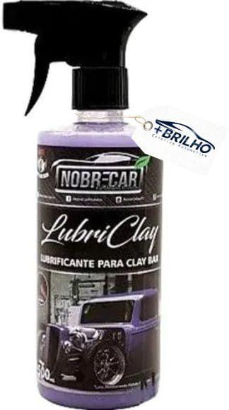 Lubriclay Lubrificante de Clay Bar 500ml Nobre Car