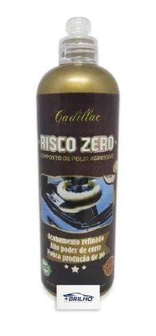 Risco Zero Composto Polidor Agressivo 500G Cadillac