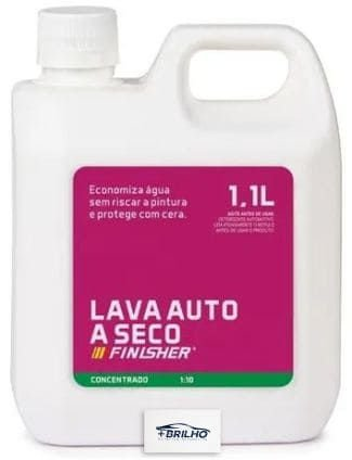 Shampoo Lava a Seco 1,1L Finisher