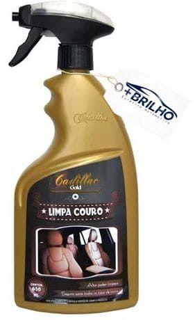 Limpa Couro 650ml Cadillac