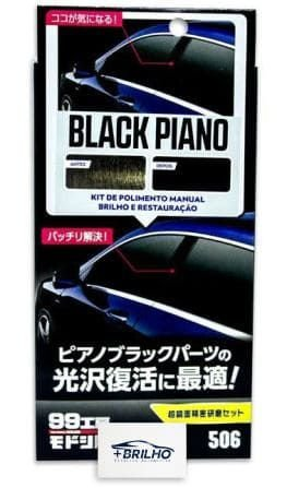 Black Piano Nano Polidor Manual 80ml Soft99