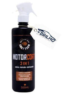 Motor Coat 3 em 1 Limpeza Proteção e Revitalização 500ml Easytech