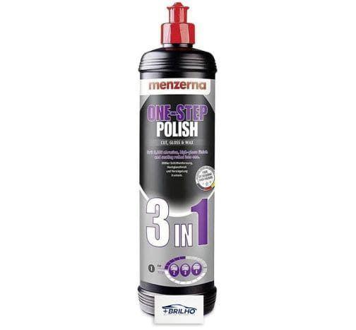 Polidor Onestep Polish 3 em 1 Corte Lustro Cera 250ml Menzerna