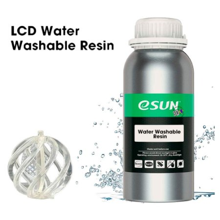 Resina 3D UV eSun Water Washable 500g