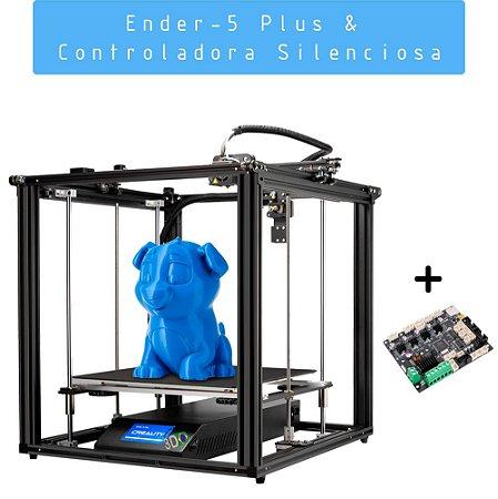 Kit Impressora Ender-5 Plus + Controladora Silenciosa V2.2.1