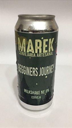 CERVEJA MILKSHAKE NEIPA - BEGGINERS JOURNEY - LATA 473ml