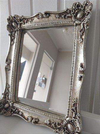 Bandeja / Espelho Retangular - Prata