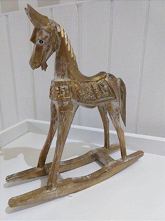 Cavalo Balanço - Madeira