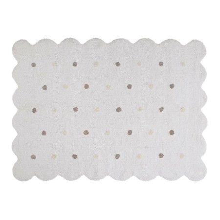 Tapete Galleta Branco 1,20x1,60 - Lorena Canals