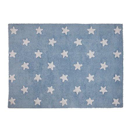 Tapete Estrelas Azul 1,20x1,60 - Lorena Canals