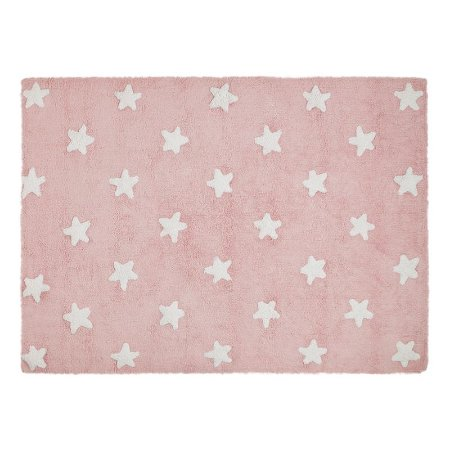 Tapete Estrelas Rosa 1,20x1,60 - Lorena Canals