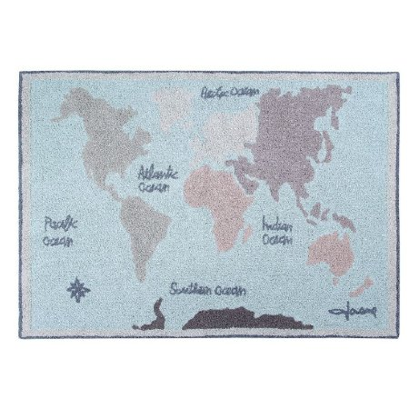 Tapete Mapa Mundi Vintage 1,40x2,00 Lorena Canals