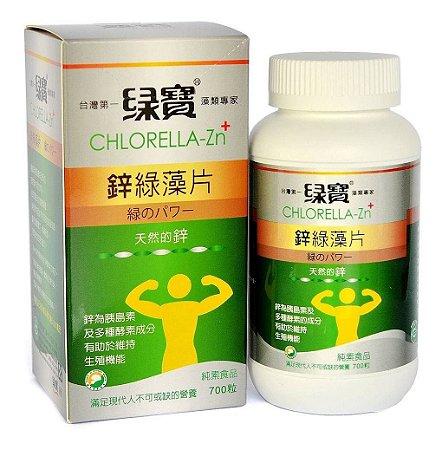 Chlorella ZN+ Zinco Green Gem® - 700 comprimidos
