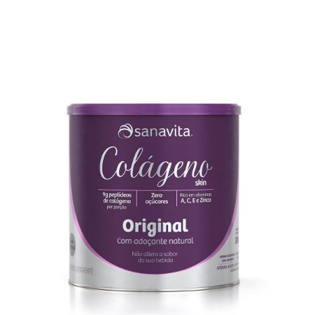 Colágeno Hidrolisado Skin Original Sanavita 300g