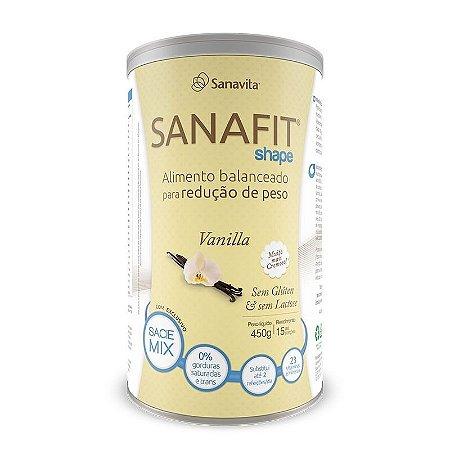 Sanafit Shape Chocolate Baunilha 450g