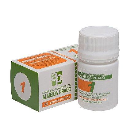 Complexo Homeopático Iris Almeida Prado Nº 1 Enxaqueca - 60 Comprimidos