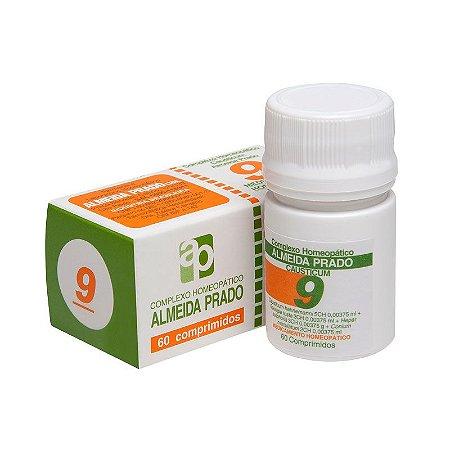 Complexo Homeopático Causticum Almeida Prado Nº 9 Tosse - 60 Comprimidos