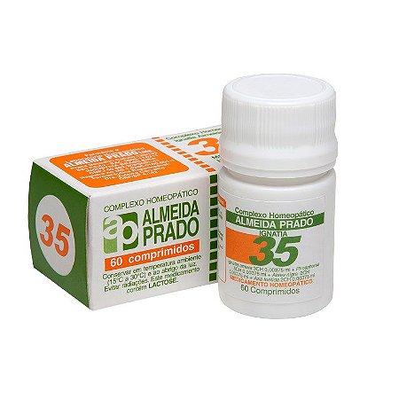 Complexo Homeopático Ignatia Almeida Prado Nº 35 Nervosismo - 60 Comprimidos