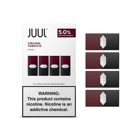 JUUL Pods - Virginia Tobac. - 4 Pods