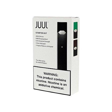 Juul Starter Kit c/ 2 Pods + Refil Menthol 4 Pods