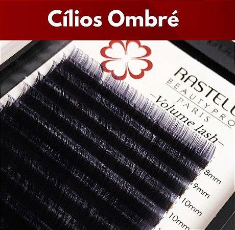 Cílios para Clássico Fio a Fio Crystal Ombre Roxo 0.15 Mix