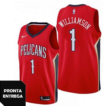 Regata Nike Nba New Orleans Pelicans 1 Williamson