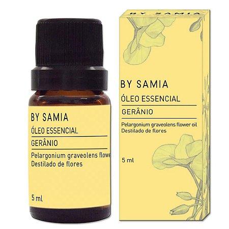 Óleo Essencial de Gerânio - By Samia - 5 ml