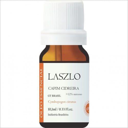 Óleo Essencial de Capim Cidreira QT Mirceno GT Brasil - Laszlo - 10,1 ml