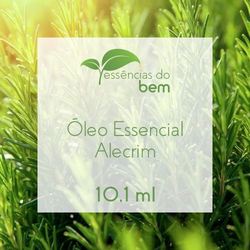 ÓLEO ESSENCIAL DE ALECRIM (QT CINEOL) 10,1ML