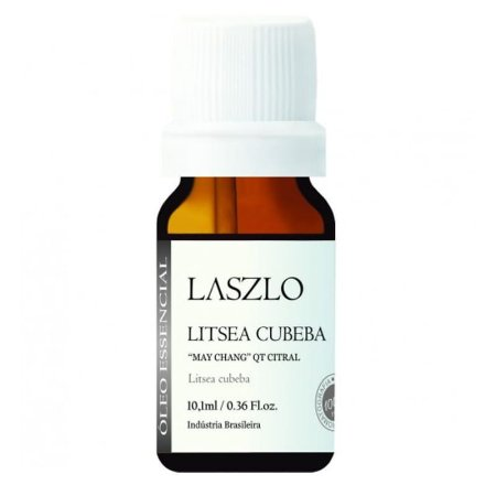 Óleo Essencial de May Chang (Litsea Cubeba) QT Citral - Laszlo - 10,1 ml