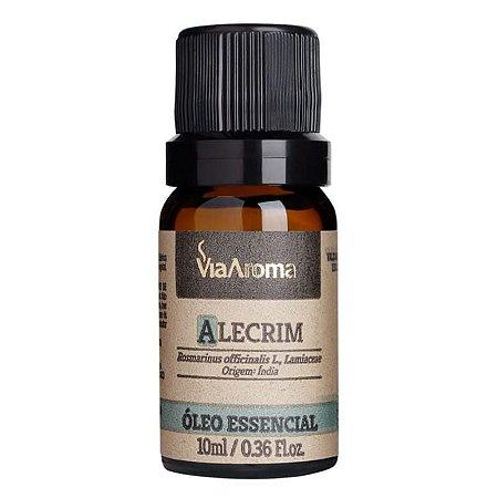 Óleo Essencial de Alecrim - Via Aroma - 10 ml