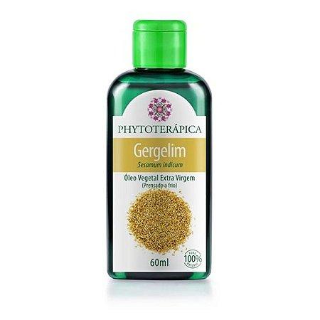 Oleo vegetal de gergelim 60 ml