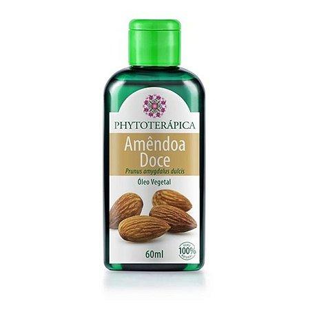 Oleo vegetal de amendoa doce 60 ml