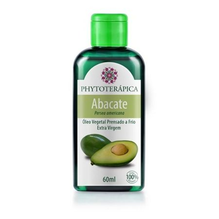 Oleo vegetal de abacate 60 ml