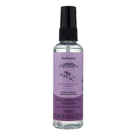 Spray antisseptico para mãos lavanda 100 ml