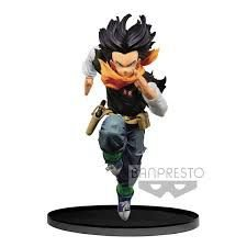 BANPRESTO WORLD FIGURE Colosseum BWFC Dragon Ball Z Scultures 2 Vol 3 Android 17