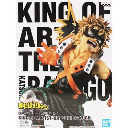 Boku no Hero King of Artist Bakugo