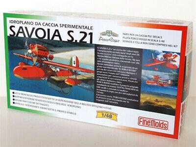 Fine mold Beni Pork Savoia S.21 - Ghibli - Porco Rosso