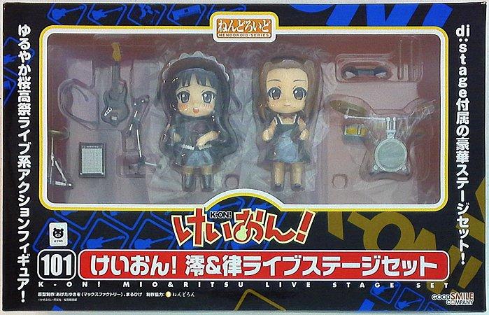 Nendoroid Mio & Ritsu Live stage - Nenderoid 101 - K-on