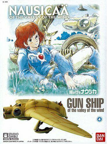Nausicaa of the Valley of the Wind Gunship Plastic Model - Ghibli