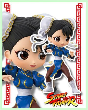 Street Fighter Qposket Chun LI Azul