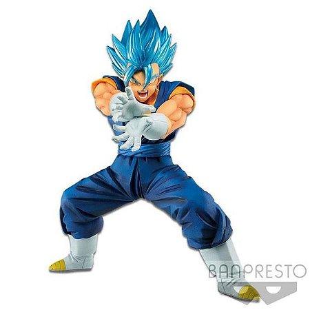 Dragon Ball Kamehameha Super Saiyan Vegetto Azul